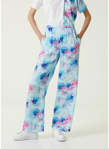 MSGM MSGM  Desenli Pijama Pantolon 101602552 Mavi